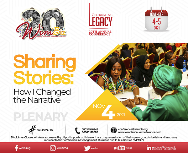 Sharing Stories: How I Changed the Narrative